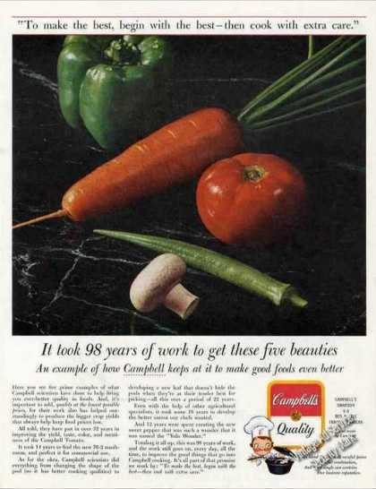 "Campbell's Soup ""98 Years of Work"" Impressive (1963)"