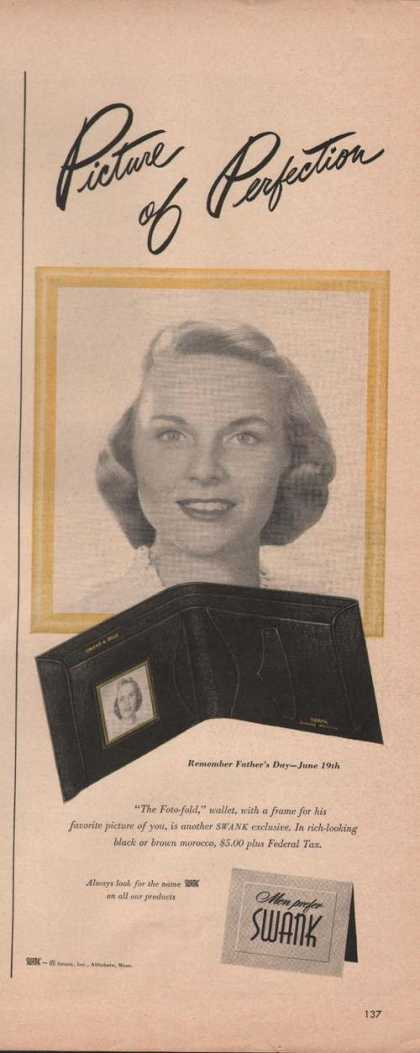 Picture of Perfection Swank Wallet (1949)