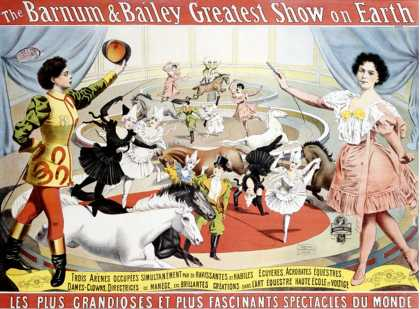 Barnum and Bailey, Trois