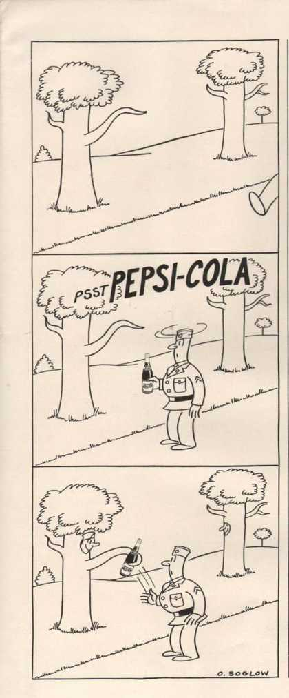 Pepsi Cola Soda Cartoon (1942)