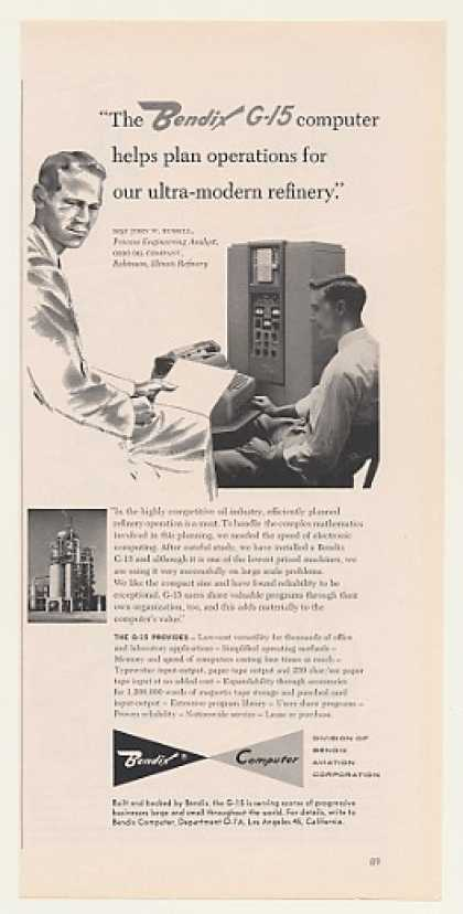 Ohio Oil Co Bendix G-15 Computer (1959)