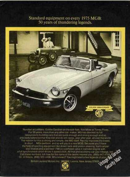 "Mgb ""50 Years of Thundering Legends"" Car (1975)"