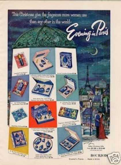 Bourjois Evening In Paris Perfume (1954)