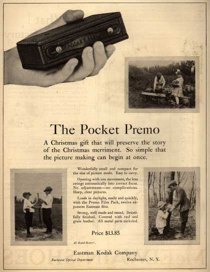 Kodak's Pocket Premo cameras – The Pocket Premo (1920)