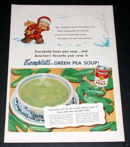 Campbell's Green Pea Soup (1951)