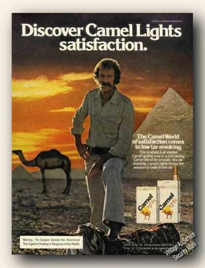 Camel Lights Pyramid Camel Satisfaction (1979)