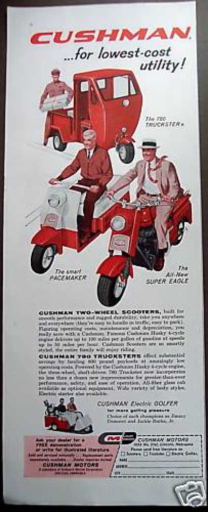 Cushman Utility Truckster, Scooters (1959)