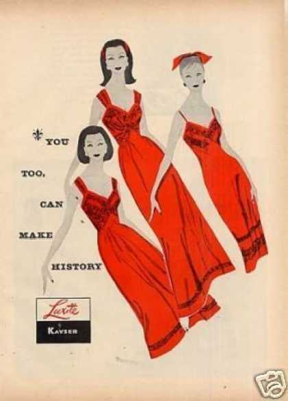 Kayser Luxite Lingerie (1956)