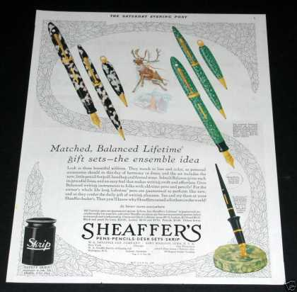 Sheaffer's Writing Pens (1929)