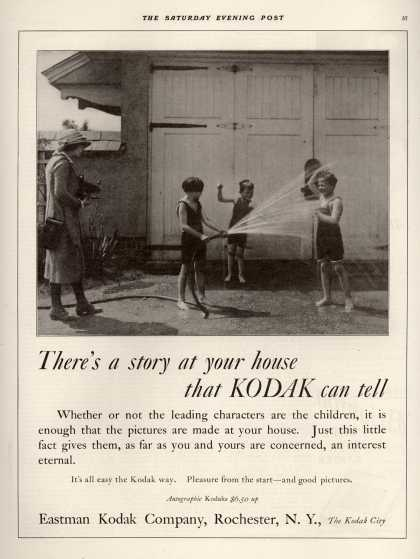 Kodak's Autographic cameras – There's a story at your house that KODAK can tell (1922)
