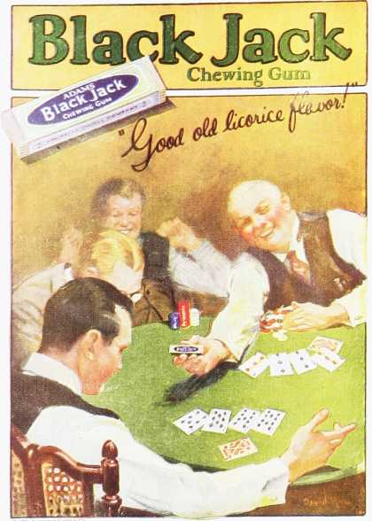 Black Jack Chewing Gum