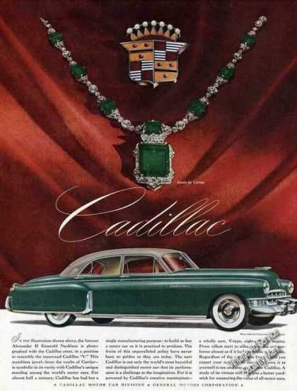 Cadillac Jewels By Cartier Photo (1949)