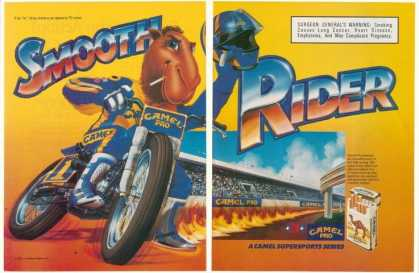 Joe Camel Smooth Rider Dirt Bike Racing (1990)
