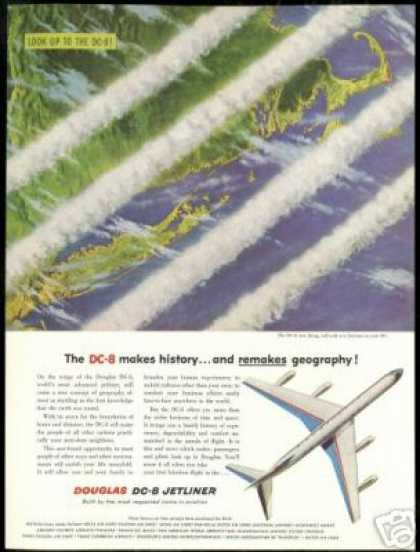 Douglas DC-8 DC8 Airplane New Horizons (1958)