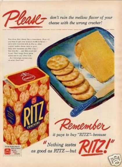 Ritz Crackers (1951)