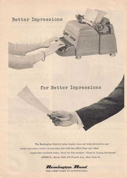Remington Rand Typewriter (1955)
