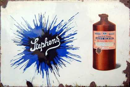 Stephen's Inks Bottle Pictorial