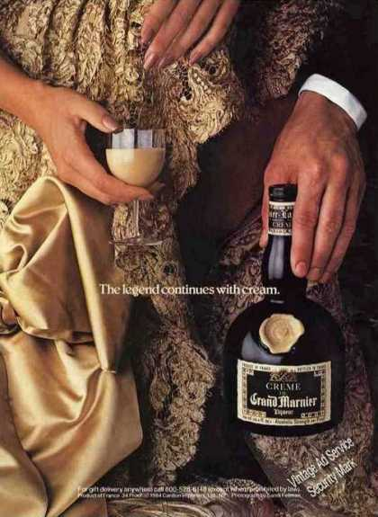 Grand Marnier Liqueur With Creme Nice (1984)