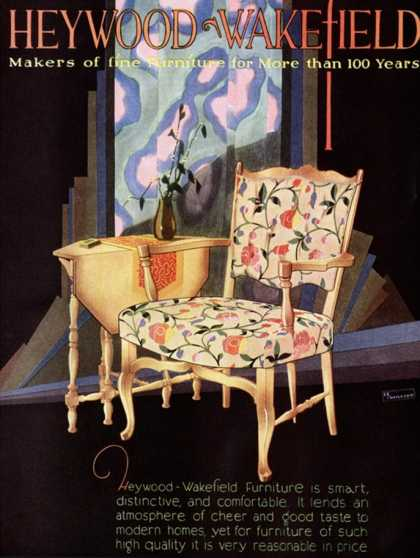 Heywood Wakefield, Furniture Interiors, USA (1920)