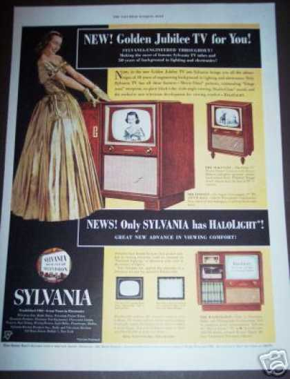 Sylvania Tv Radio Phonograph (1951)
