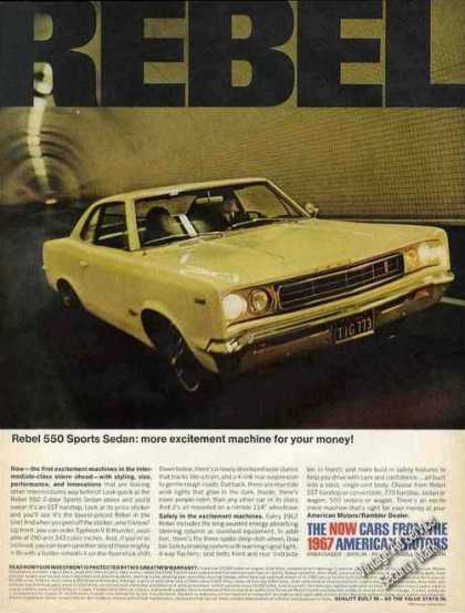 American Motors Rebel Sport Sedan Photo (1967)