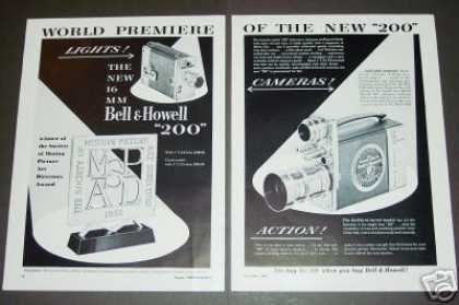 Bell & Howell 200 Movie Camera (1951)