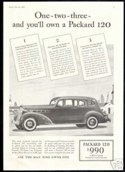 Packard 120 Cost $990 Vintage Car (1936)