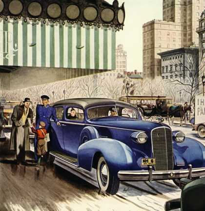 Cadillac-Fleetwood Series 75 Five-Passenger Formal Sedan, $3685 (1937)