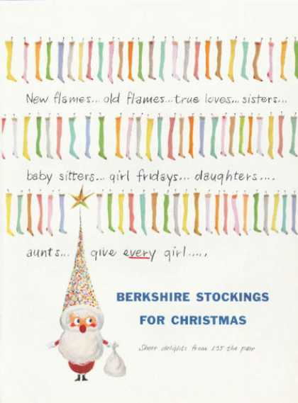 Berkshire Stockings for Christmas (1958)
