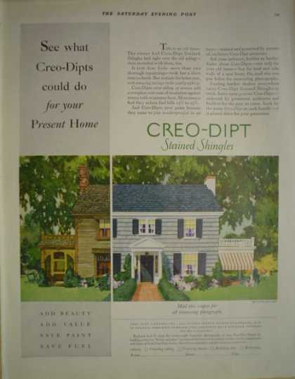 Creo Dipt Stained Shingles Coupon for photos (1928)