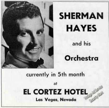Sherman Hayes Photo Music Trade (1954)