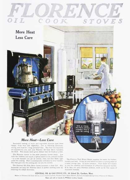 Florence Oil Cook Stoves