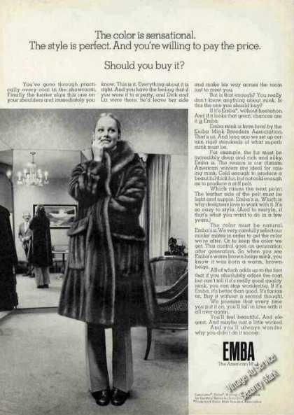 "Emba the American Mink ""Should You Buy It?"" (1972)"