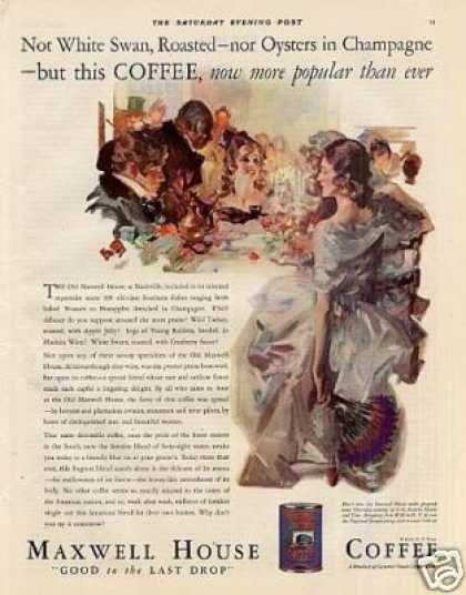 Maxwell House Coffee Color (1930)