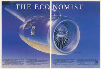 Rolls-Royce RB211-535E4 Jet Engine 2-Page (1984)