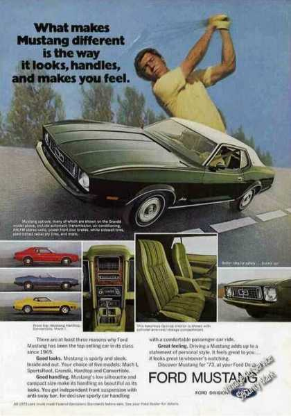 Ford Mustang Photos Golf Theme Car (1973)
