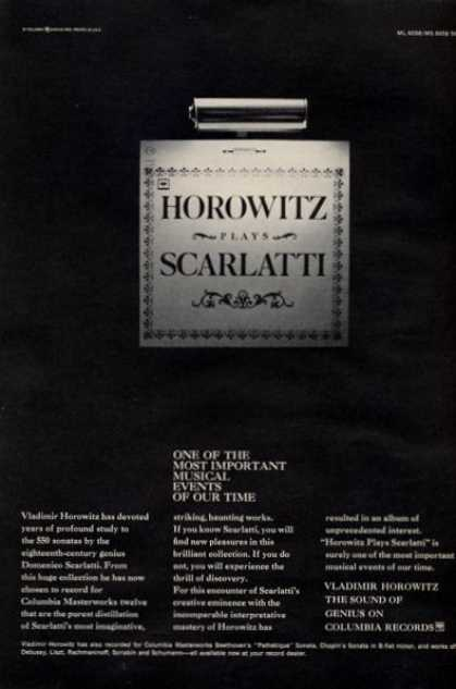 Horowitz Plays Scarlatti Musical (1965)