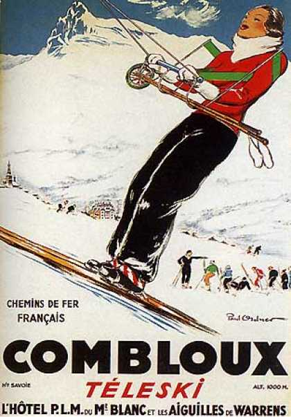 Combloux by Paul Ordner (1935)