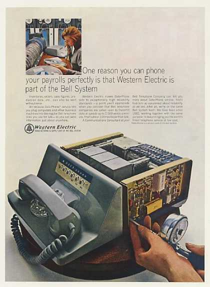 Western Electric Bell Data-Phone Telephone (1966)