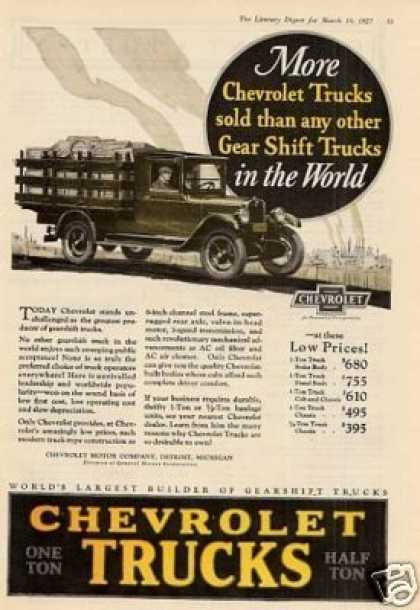 Chevrolet Truck Color (1927)