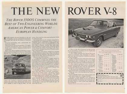 Rover V-8 3500S Power Handling (1969)