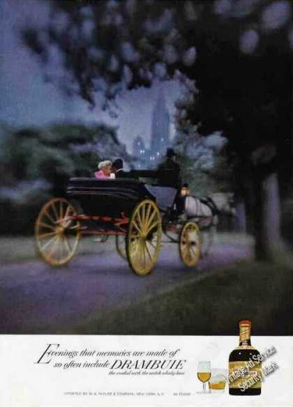 Horse Drawn Carriage Central Park Ny Drambuie (1972)