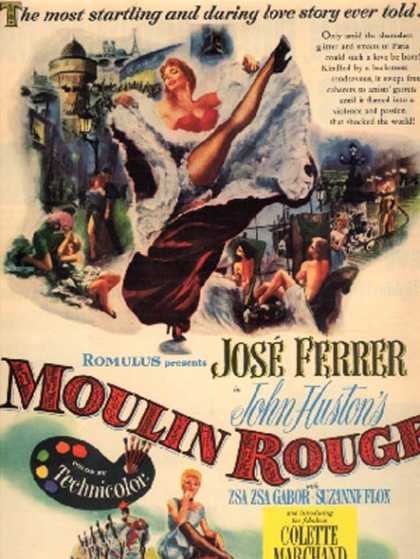 Moulin Rouge (Jose Ferrer and Zsa Zsa Gabor) (1953)