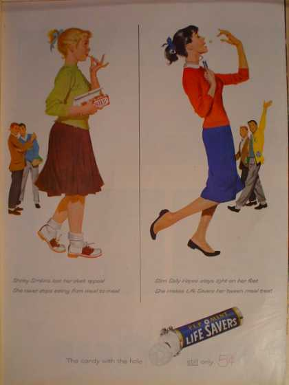 Lifesavers Pep O Mint Between meal treat (1957)