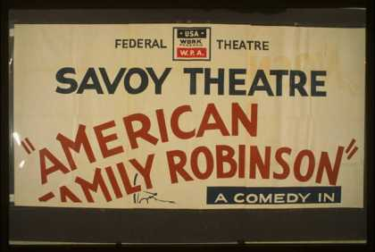 """American Family Robinson"" – A comedy in three acts by George Savage – A sizzling fun-filled comedy of family life and strife. (1939)"