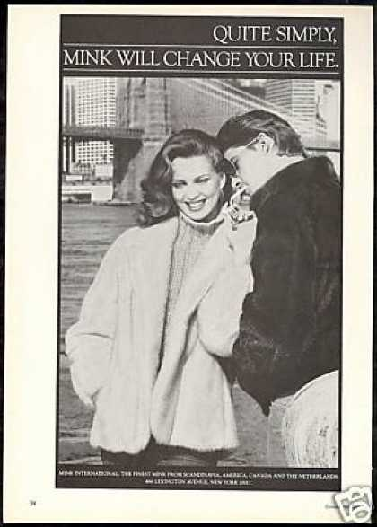 Mink International Fur Coat Jacket Photo (1981)