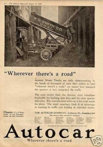 Vintage Transportation Ads Of The 1920s Page 12