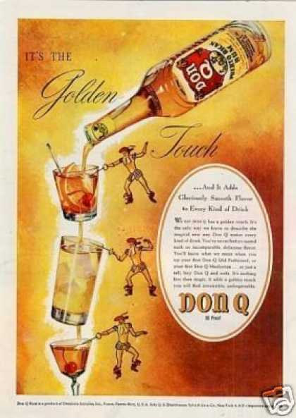 Don Q Puerto Rican Rum (1946)