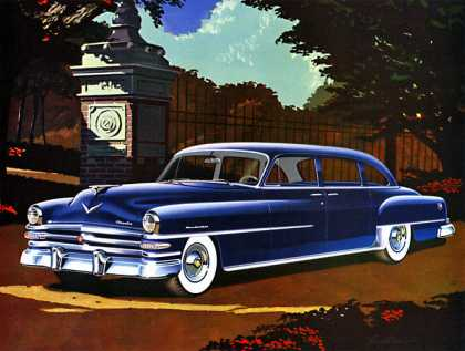 Chrysler New Yorker eight-passenger sedan 			Larry Baranovic (1953)