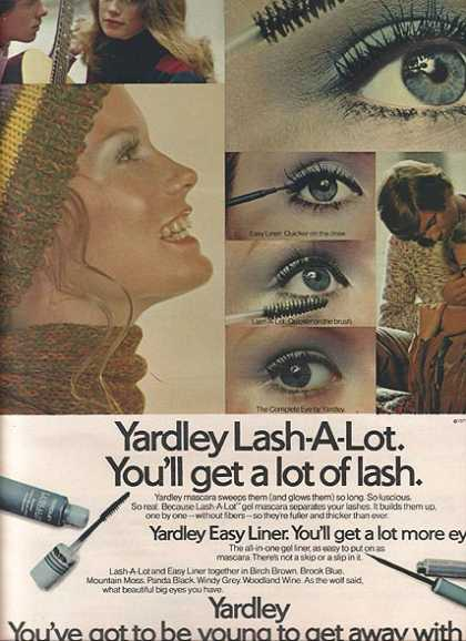 Yardley's Lash-A-Lot (1971)